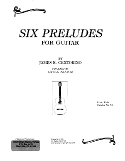Six Preludes     for Guitar