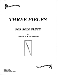 Three Pieces     for Solo Flute